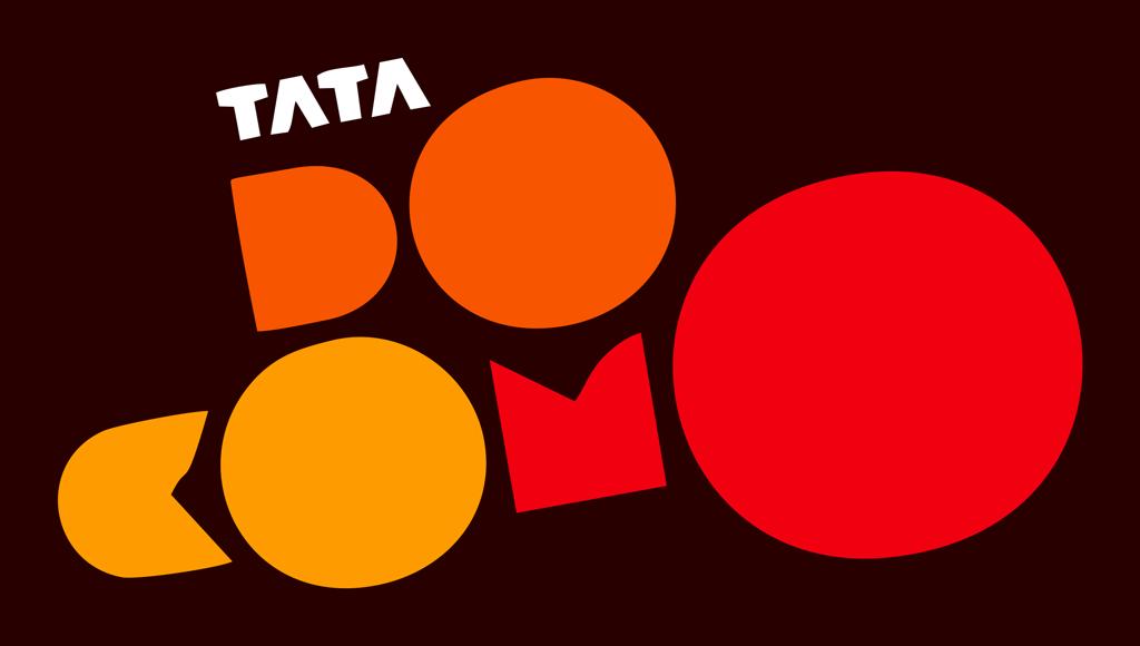 Tata docomo logo and tagline -.