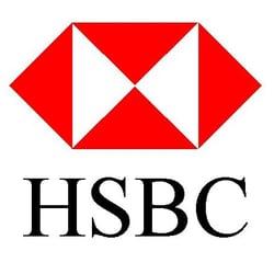 HSBC Bank USA Logo and Tagline -