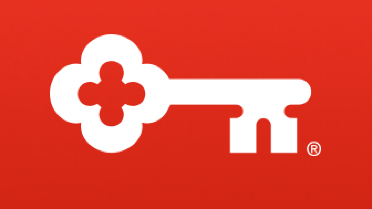KeyBank Logo and Tagline -