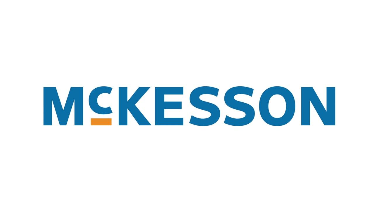 mckesson corporation logo and tagline