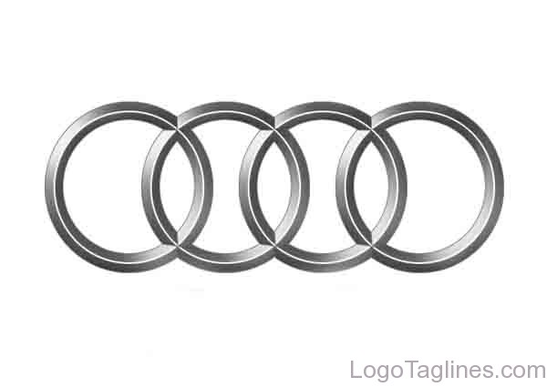 Audi Logo and Tagline -