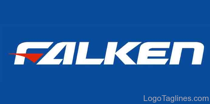 Japanese Car Brand >> Falken Tire Logo and Tagline