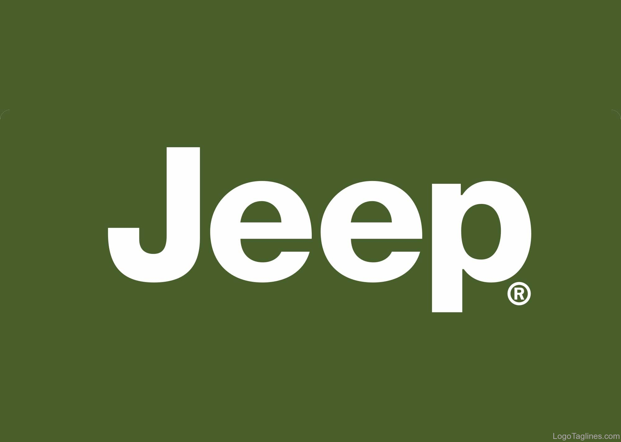 Jeep Logo And Tagline