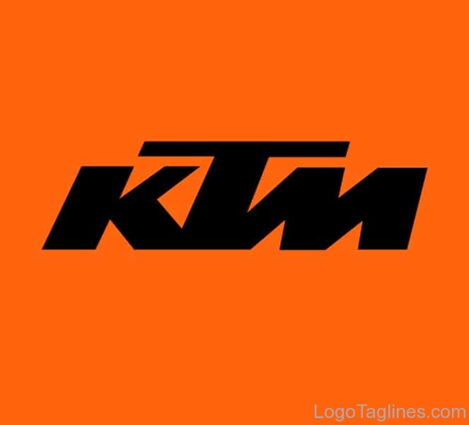 Ktm Logo And Tagline