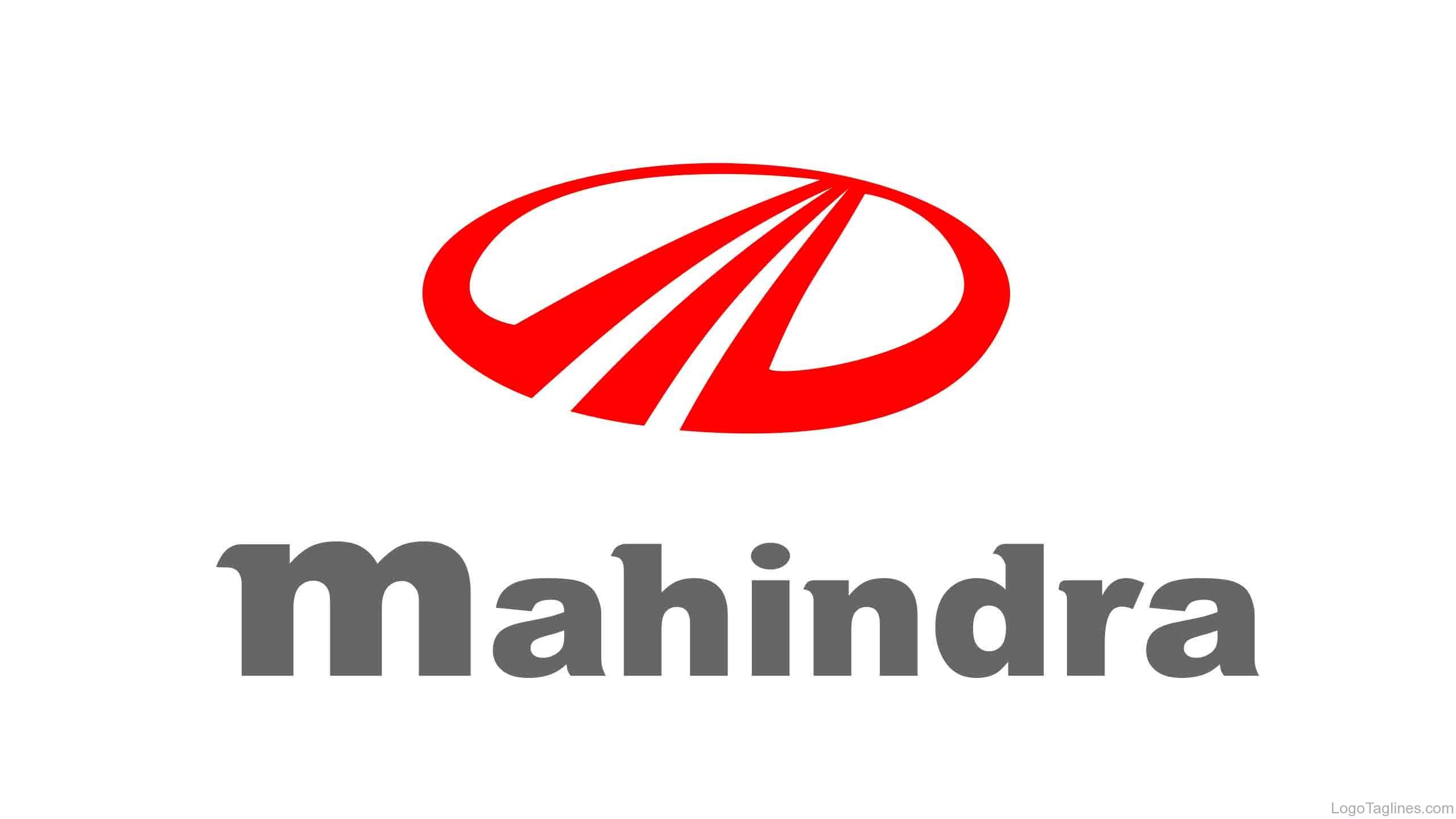 Mahindra and mahindra logo and tagline buycottarizona Image collections
