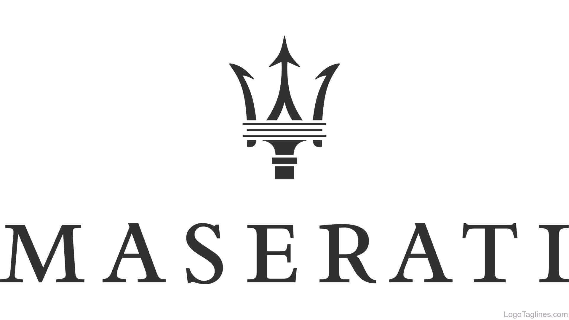 Maserati Logo and Tagline   1920 x 1080 jpeg 73kB