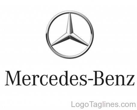 Mercedes benz slogan