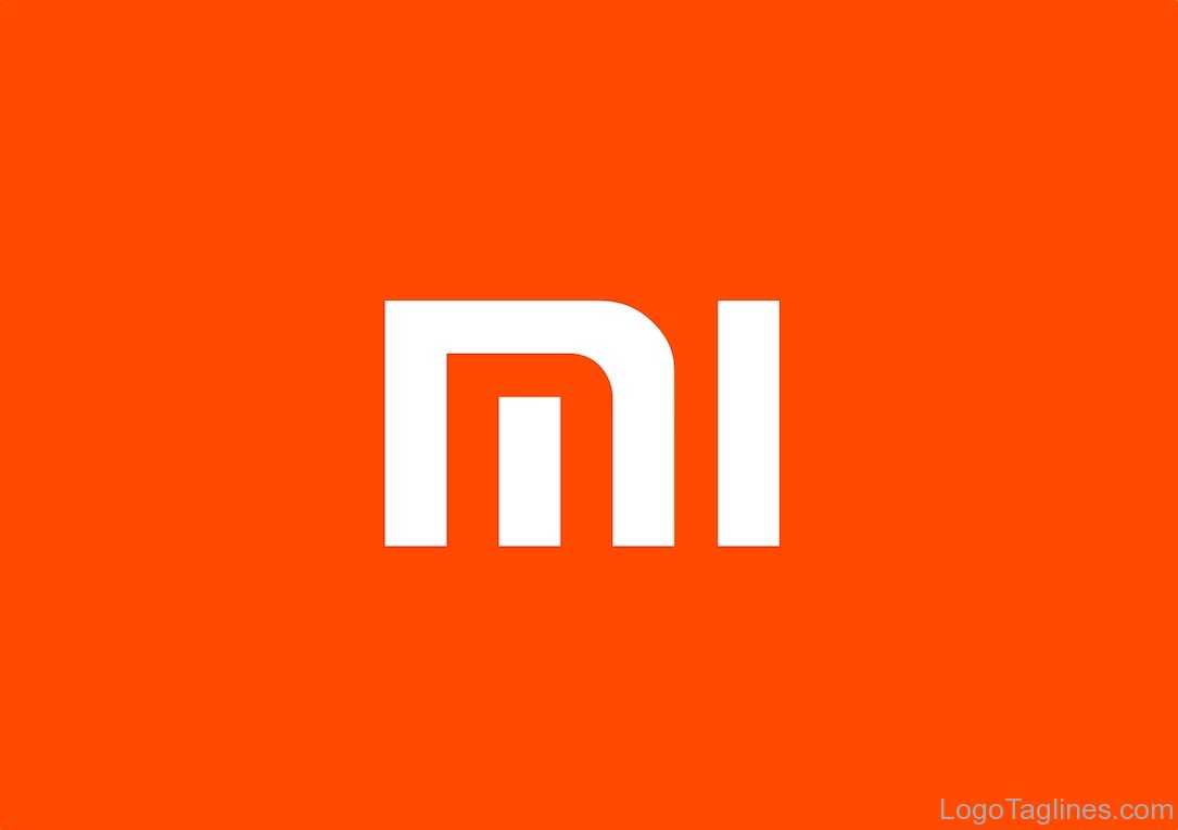 xiaomi logo and tagline