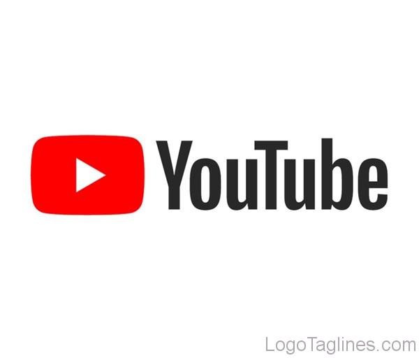 YouTube Logo And Tagline