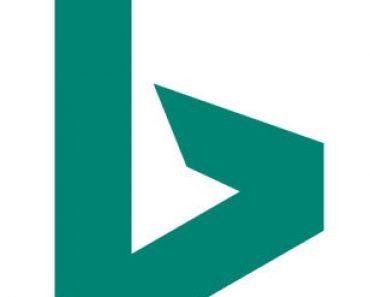 bing logo and tagline